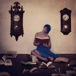 Her Solitude echos With The Passing Of Time